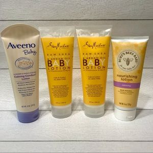 Calming baby lotion lot